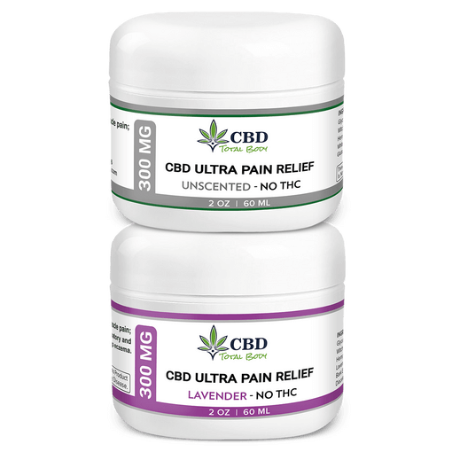 CBD Ultra Pain Relief Cream Together - Best CBD Cream for Arthritis