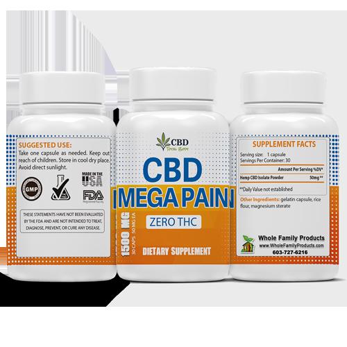 CBD Mega Pain 3 sides