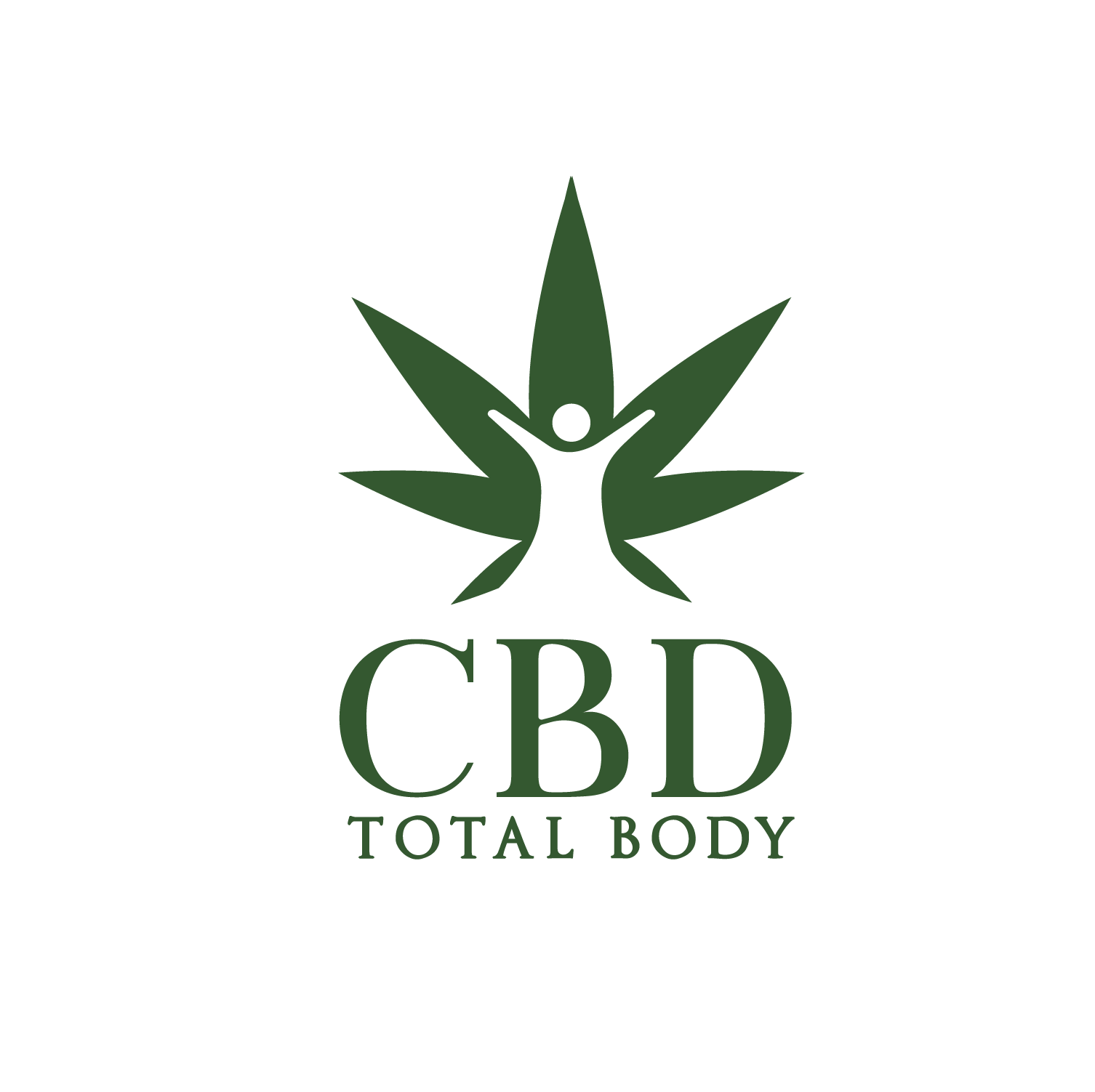 CBD Total Body Transparent Logo